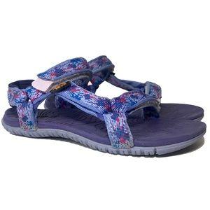 TEVA Hurricane Little Girl's Sport Sandals Purple